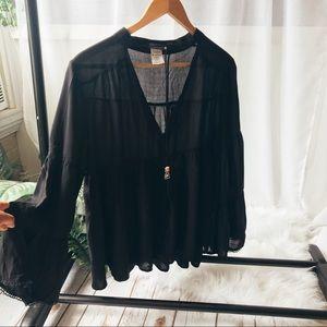 Black earthbound blouse